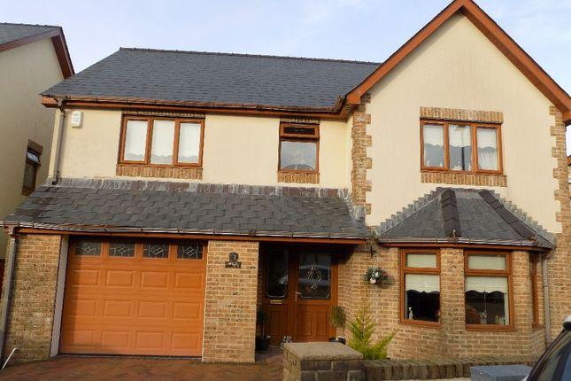 Thumbnail Detached house for sale in Siloam Close, Tafarnaubach, Tredegar. 3Aj.