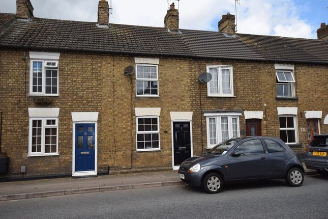 Thumbnail Terraced house to rent in Dunstable Road, Toddington, Dunstable