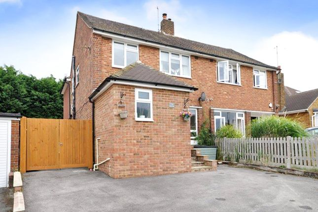 Thumbnail Semi-detached house for sale in Horsham, West Sussex