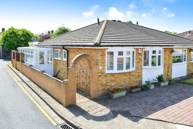 Thumbnail Semi-detached bungalow for sale in Chartwell Close, London