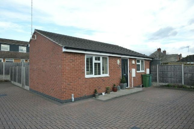 Thumbnail Detached bungalow for sale in Barry Court, Narborough, Leicester