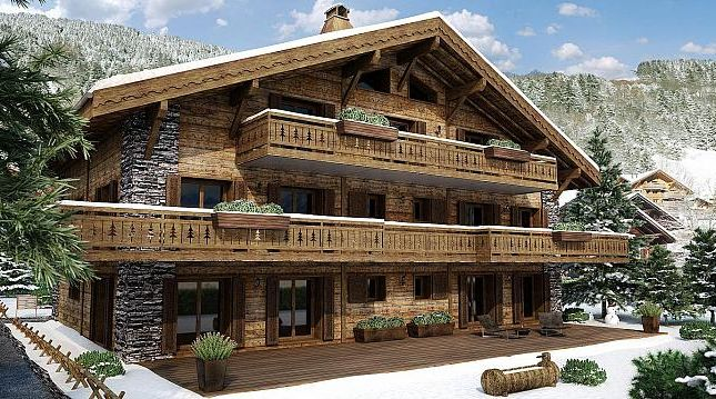 Thumbnail Apartment for sale in Apartment Geppetto, Champéry, Valais, Switzerland