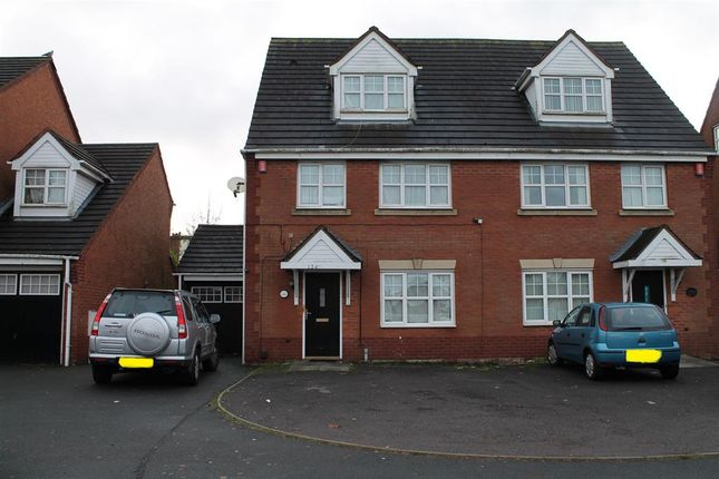 Thumbnail Semi-detached house for sale in Saint Pauls Road, Smethwick