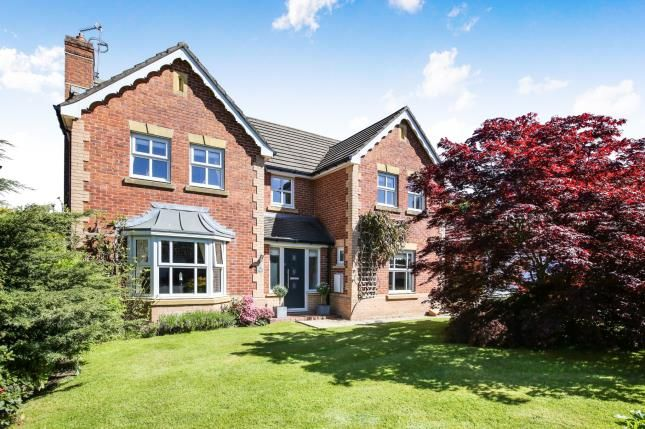 Thumbnail Detached house for sale in Cheltenham Close, Tytherington, Macclesfield, Cheshire