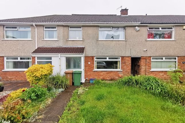 Thumbnail Terraced house for sale in Porset Close, Caerphilly