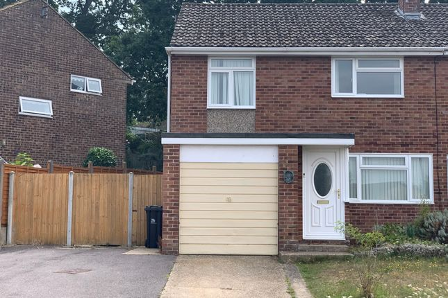 Thumbnail Semi-detached house to rent in Leeson Drive, Ferndown