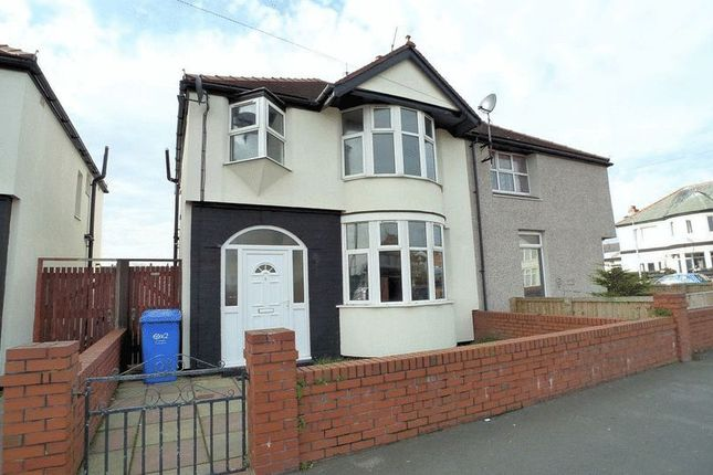 3 bed semi-detached house for sale in Barry Road South, Rhyl