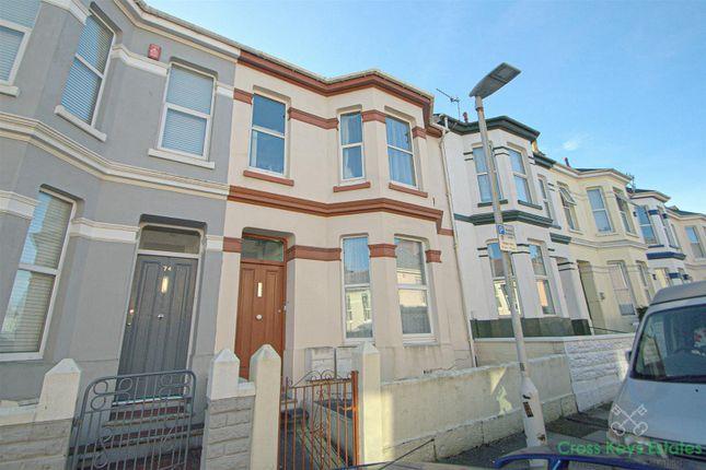 Thumbnail Flat to rent in Desborough Road, Plymouth
