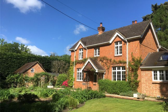 Thumbnail Detached house for sale in Chertsey Road, Windlesham, Surrey