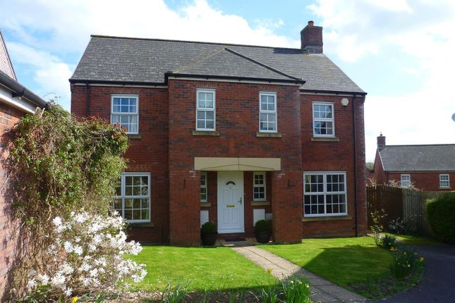 Thumbnail Detached house for sale in Lacock Gardens, Hilperton, Trowbridge