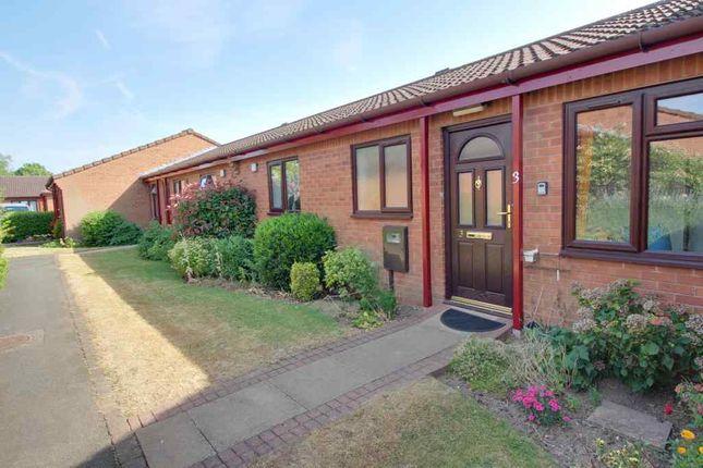 Thumbnail Terraced bungalow for sale in Copsey Croft Court, Long Eaton, Nottingham
