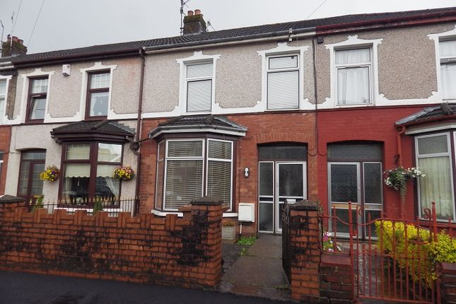 3 bed terraced house to rent in Cobden Street, Cross Keys, Newport, Gwent.