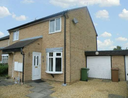 Thumbnail Semi-detached house to rent in Uldale Way, Gunthorpe, Peterborough