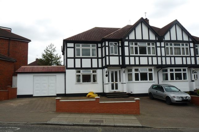 Thumbnail Semi-detached house for sale in Lindsay Drive, Kenton