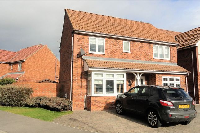 Thumbnail Detached house for sale in Exmouth Close, Redcar