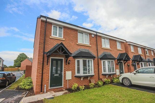 Thumbnail Semi-detached house to rent in Overton Manor, Eccleshall, Stafford