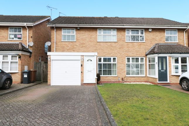 3 bed semi-detached house for sale in Dunton Hall Road, Shirley, Solihull B90