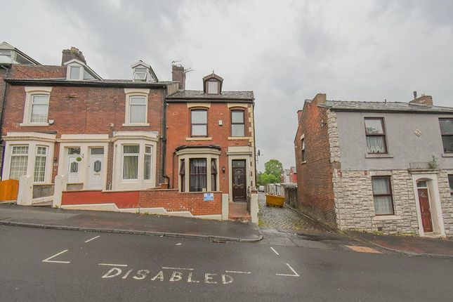 Thumbnail End terrace house for sale in Palmer Road, Blackburn