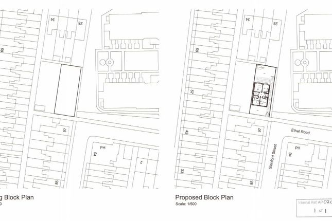 Plans of Ethel Road, Lowestoft NR32