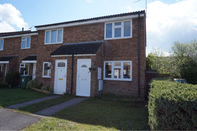 Thumbnail End terrace house for sale in Cherrytree Close, Sandhurst