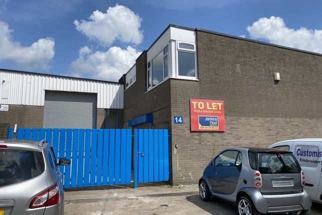 Thumbnail Industrial to let in Unit 14 Forgehammer Industrial Estate, Cwmbran