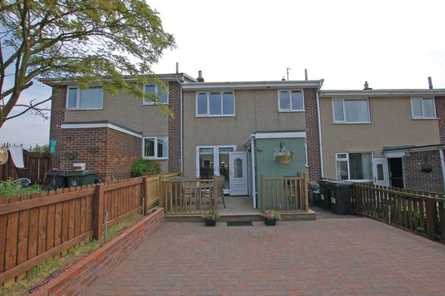 Thumbnail Terraced house for sale in Brierley Gardens, Otterburn, Newcastle Upon Tyne