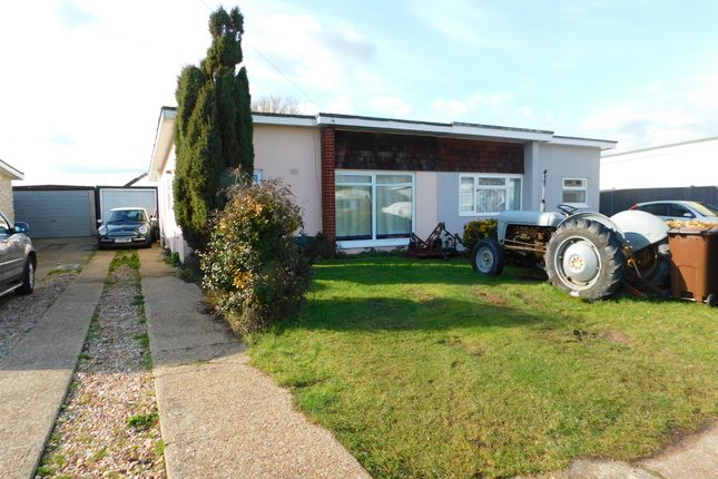 Thumbnail Semi-detached bungalow for sale in Maresfield Drive, Pevensey Bay
