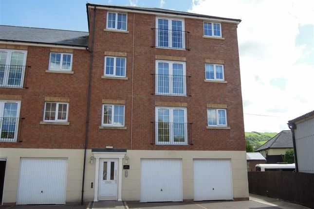 Thumbnail Flat to rent in 16, Afon Way, Lower Canal Road, Newtown, Powys