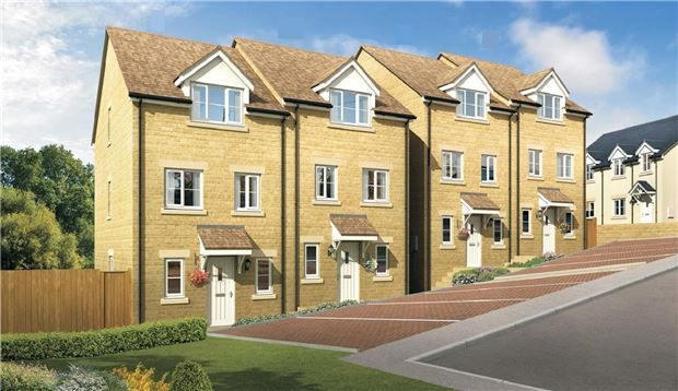 Thumbnail Semi-detached house for sale in The Willowdale, Blenheim Rise, Randwick, Stroud, Glos