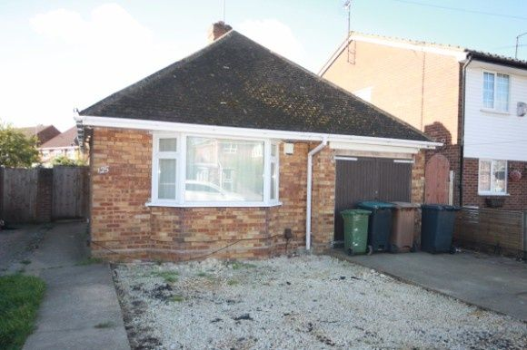 Thumbnail Detached bungalow to rent in Toddington Road, Luton