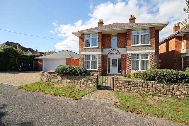 Thumbnail Detached house for sale in Colwell Common Road, Totland Bay