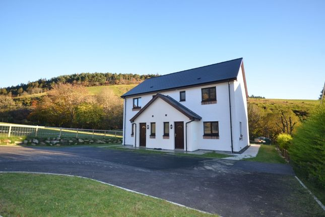 Thumbnail Semi-detached house for sale in Plot 1 Adj Cwm Y Nant, Llanafan, Ceredigion