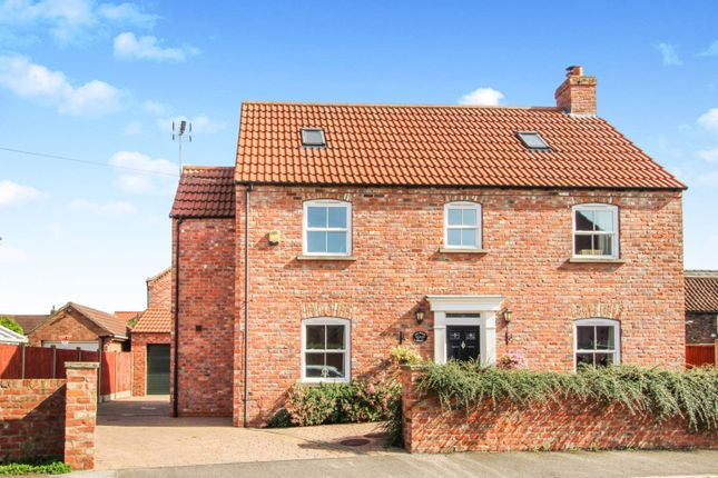 Thumbnail 5 bed detached house for sale in Manor Close, Hemingbrough