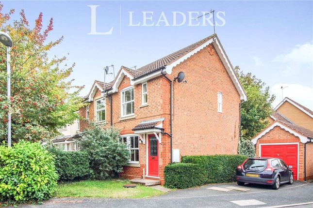 2 bed end terrace house for sale in Bodiam Close, Berkeley Beverborne, Worcester WR4