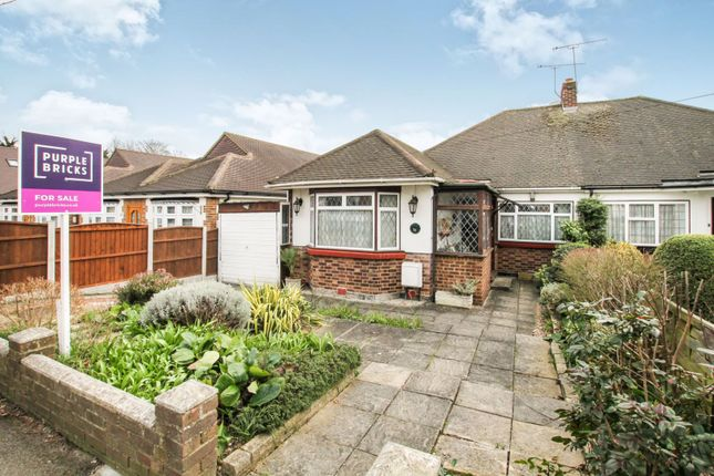 Thumbnail Semi-detached bungalow for sale in Foxhall Road, Upminster