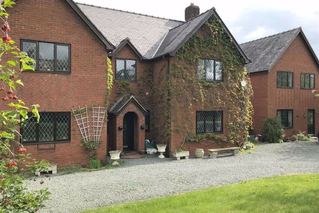 Thumbnail Detached house for sale in Dol Y Dderwen, Pontrobert, Meifod, Powys