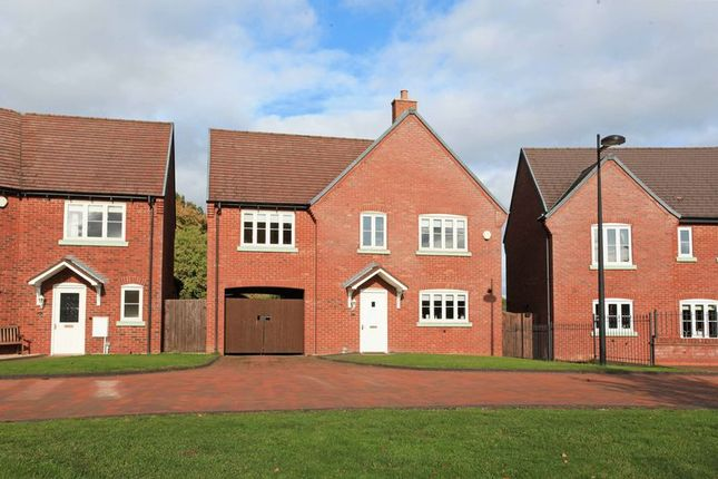 Thumbnail Detached house for sale in Little Green Avenue, Telford