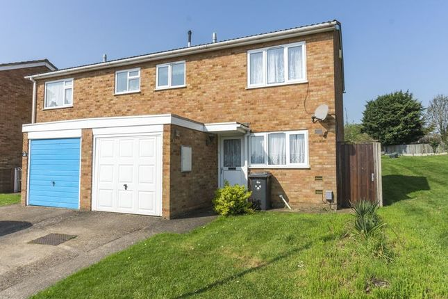 Thumbnail Semi-detached house to rent in Falcon Crescent, Flitwick, Bedford