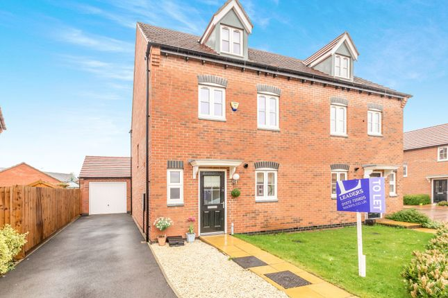 Thumbnail Semi-detached house to rent in Prince George Avenue, Oakham