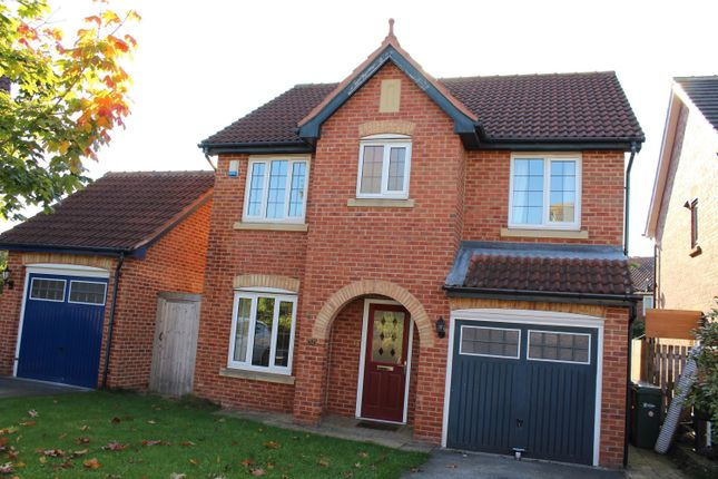 Thumbnail Detached house to rent in Redgrave Close, York