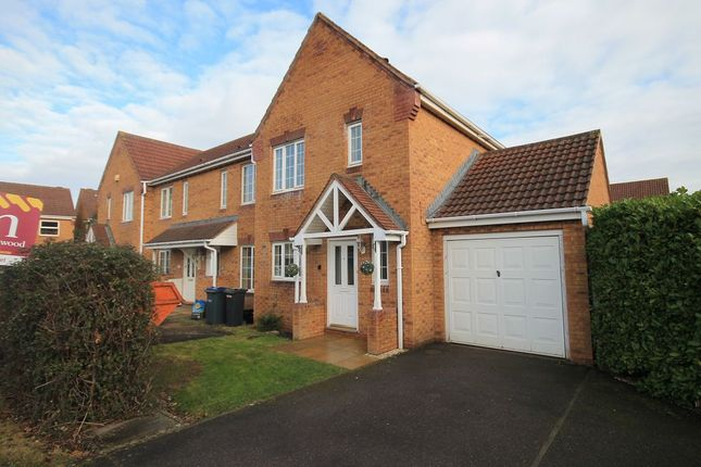 Thumbnail Semi-detached house to rent in Cornbrash Rise, Hilperton, Trowbridge
