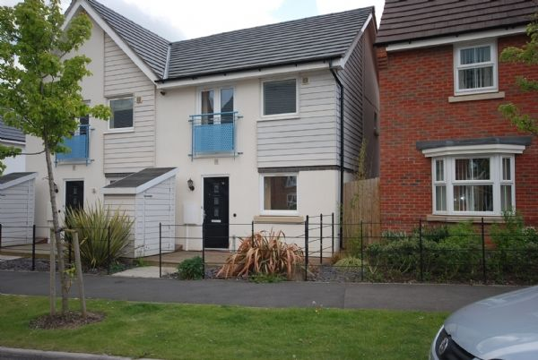 Thumbnail Town house to rent in Brompton Road, Hamilton, Leicester
