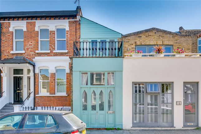 Thumbnail Terraced house to rent in Shorrolds Road, Fulham, London