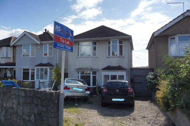 Thumbnail Detached house to rent in Herbert Avenue, Poole