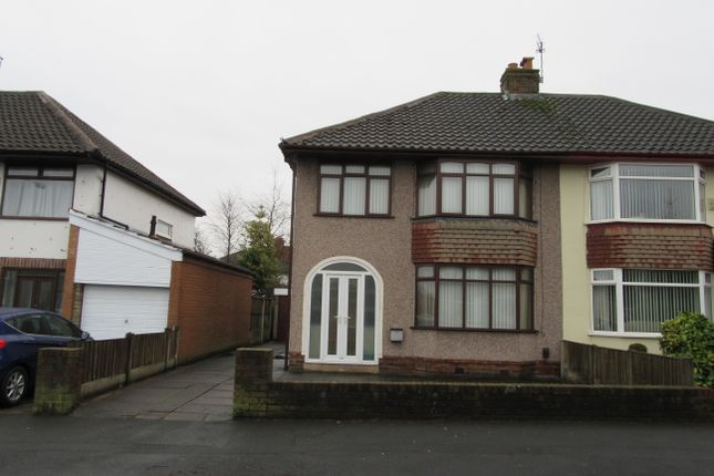 Thumbnail Semi-detached house to rent in Weaver Avenue, Rainhill