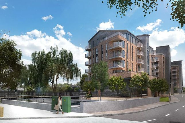 Thumbnail 1 bed flat for sale in Langley Square, The Knight, Mill Pond Road, Dartford, Kent