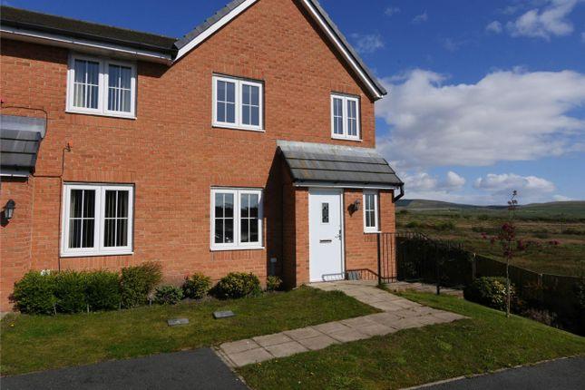 Thumbnail Semi-detached house for sale in 28 Weavers Avenue, Frizington, Cumbria