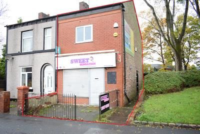 Thumbnail Commercial property for sale in And 416A Hollins Road, Oldham, Lancashire