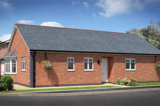 Thumbnail Bungalow for sale in Plot 18, Badgers Fields, Arddleen, Llanymynech, Powys