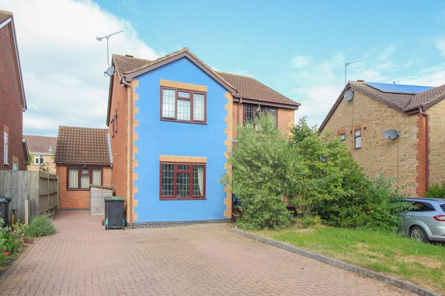 Thumbnail Detached house for sale in Durham Close, Bedford